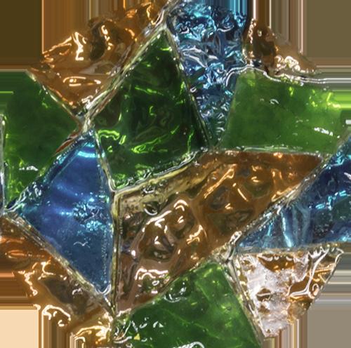 Bijoux en mosaïque Tesselline ambiance Eclats