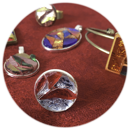 Bijoux en mosaïque Tesselline par type